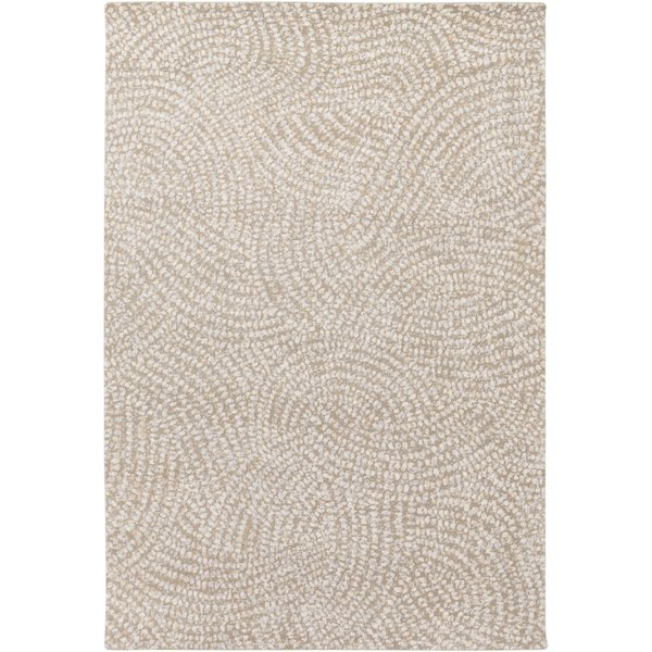 Camel, Denim, Cream, Tan (SPO-1003) Contemporary / Modern Area Rug