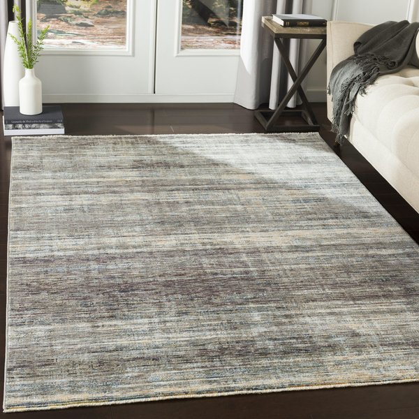 Medium Gray, Medium Gray Contemporary / Modern Area-Rugs