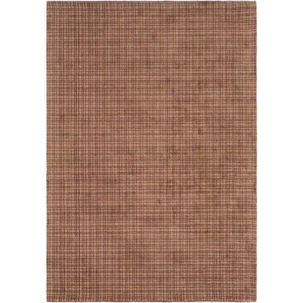 Garnet, Wheat (TTA-1002) Contemporary / Modern Area Rug