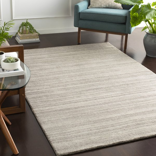 Taupe, Medium Grey, Charcoal (AYT-1000) Contemporary / Modern Area Rug