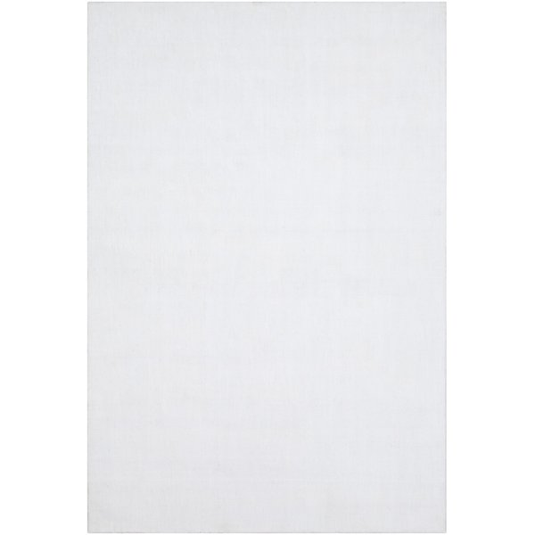 White (WLK-1000) Solid Area Rug