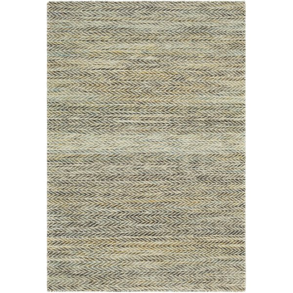 Dark Green, Teal, Olive (KNL-1001) Contemporary / Modern Area-Rugs