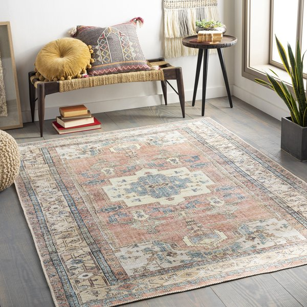 Charcoal, Wheat, Ivory (AML-2319) Vintage / Overdyed Area-Rugs