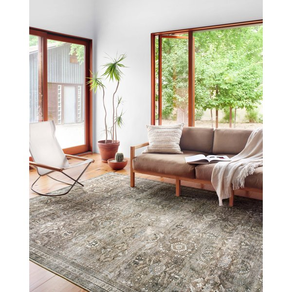 Antique, Moss Vintage / Overdyed Area-Rugs