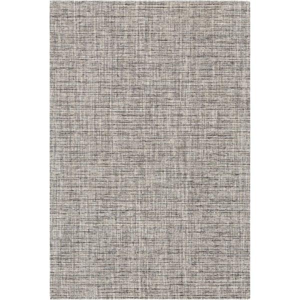 Brown, Grey, Cream Contemporary / Modern Area Rug