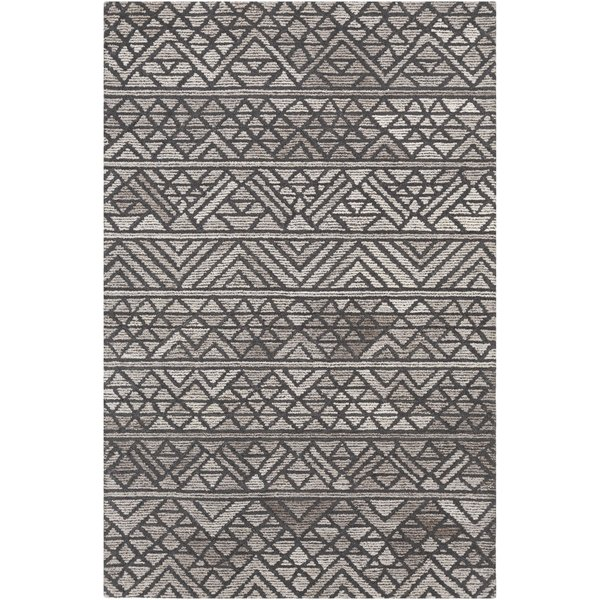 Chocolate, Taupe Contemporary / Modern Area Rug