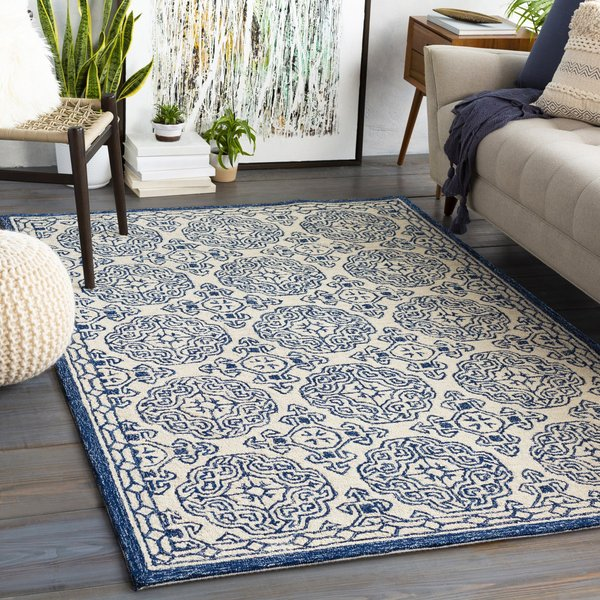 Dark Blue (GND-2303) Traditional / Oriental Area-Rugs