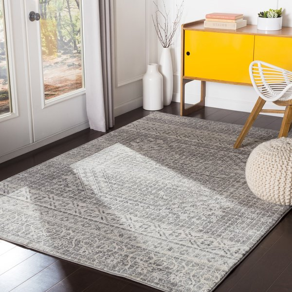Grey (HAP-1080) Contemporary / Modern Area-Rugs
