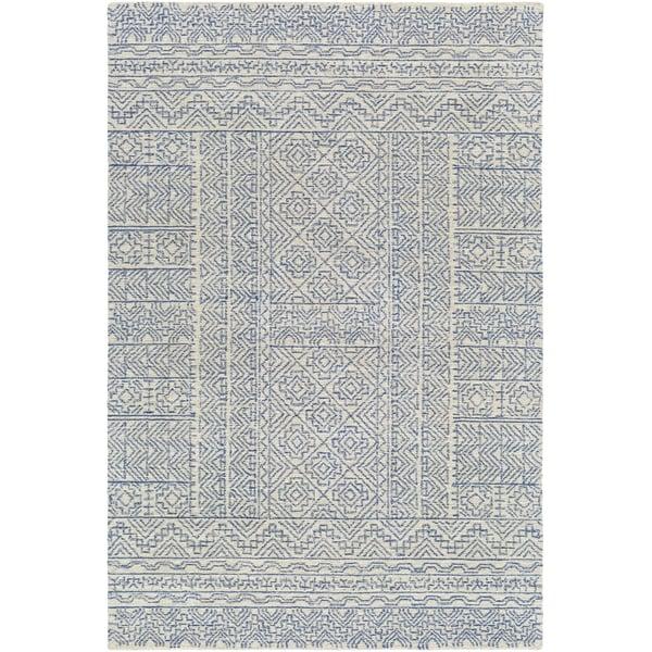Grey, Cream (MAR-2316) Moroccan Area Rug