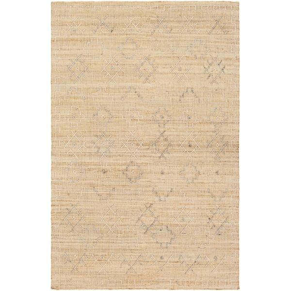Wheat (ARE-2301) Moroccan Area Rug