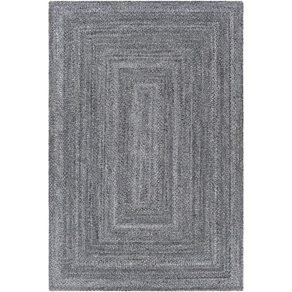 Light Grey, Medium Grey, Charcoal (AZA-2320) Contemporary / Modern Area-Rugs