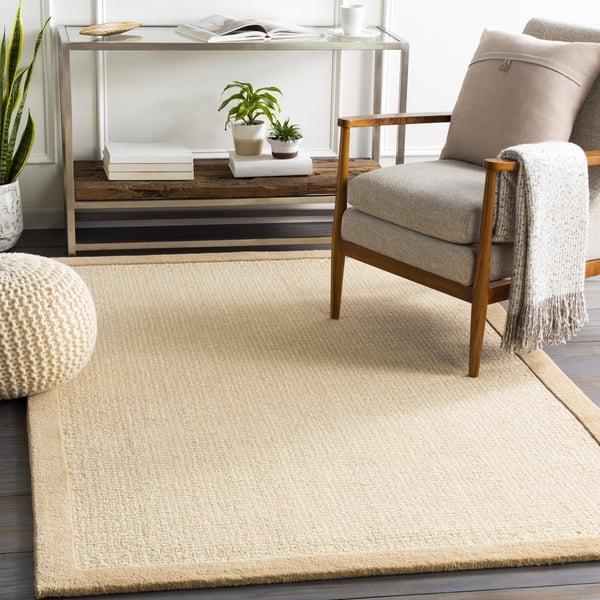 Tan, Khaki, Ivory (SNA-2300) Contemporary / Modern Area Rug