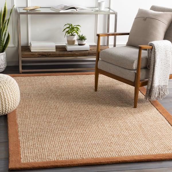 Camel, Cream, Khaki (SNA-2304) Contemporary / Modern Area Rug