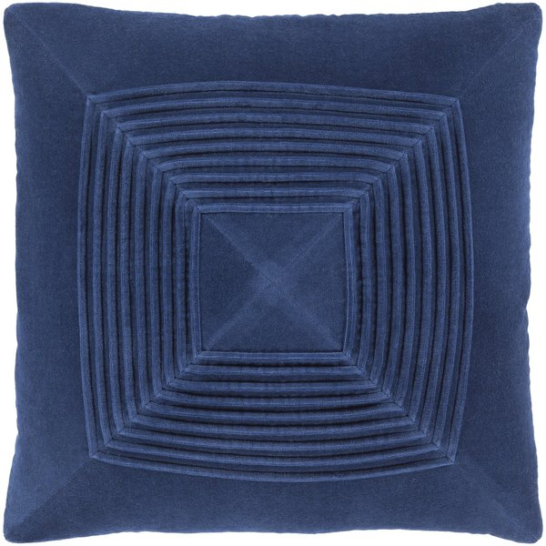 Navy (AKA-008) Solid pillow