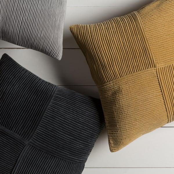 Mustard (CNR-003) Solid Pillow