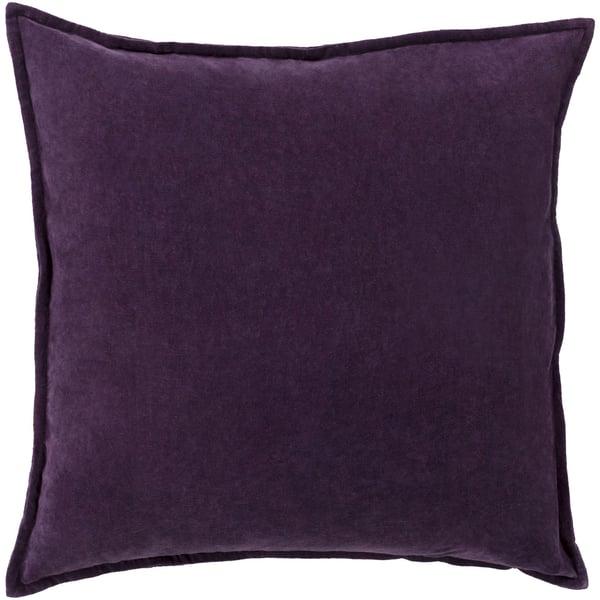 Dark Purple (CV-006) Solid pillow