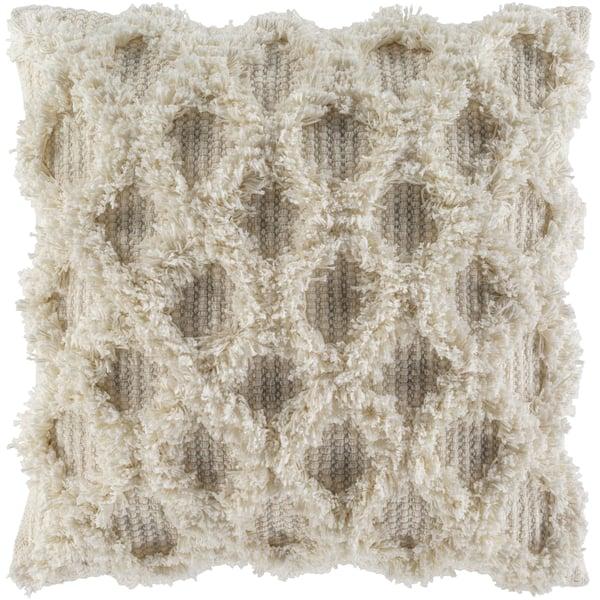 Ivory, White, Khaki (EDR-001) Moroccan pillow