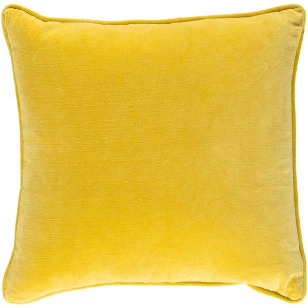 Saffron (SAFF-7202) Solid pillow