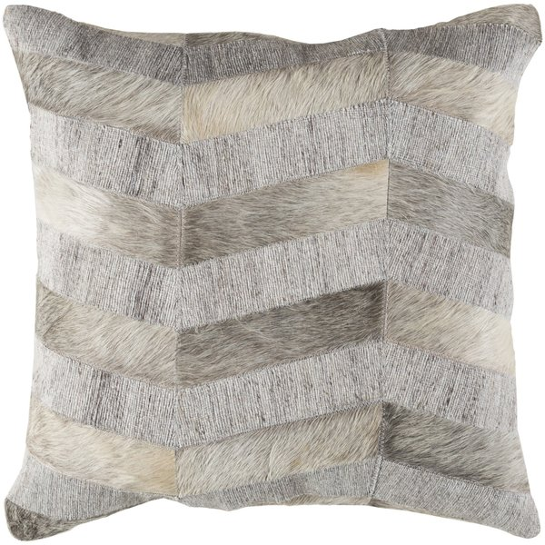 Cream, Light Gray, Medium Gray (MOD-001) Contemporary / Modern pillow