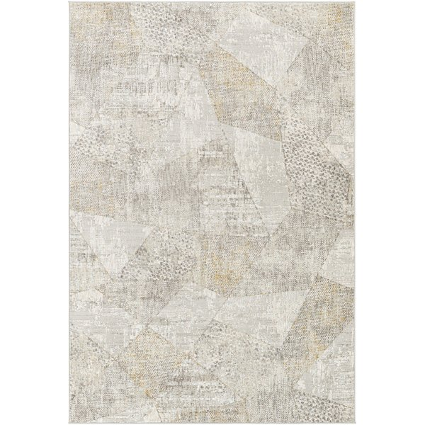 Ivory, Grey, Taupe (CRL-2303) Contemporary / Modern Area Rug