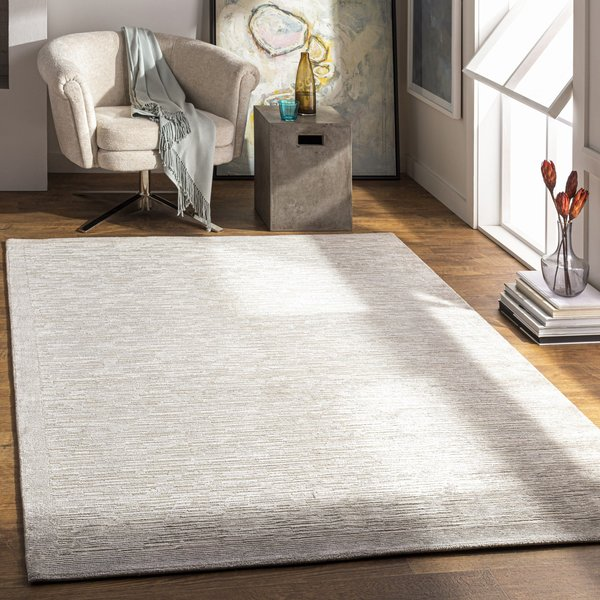 Sage, Silver Gray, Taupe (CAP-2305) Contemporary / Modern Area Rug