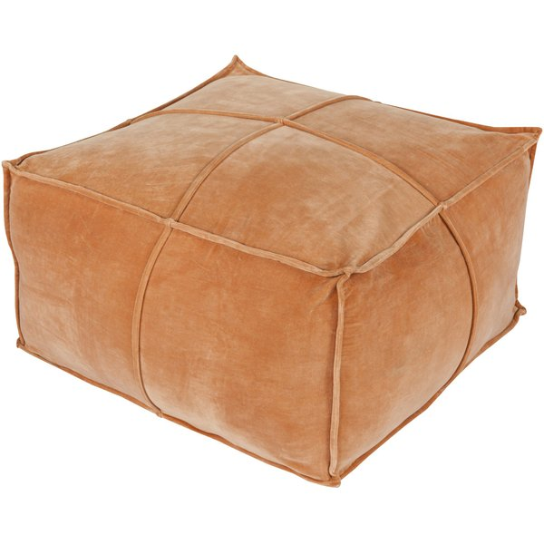 Burnt Orange (CVPF-003) Solid poufs