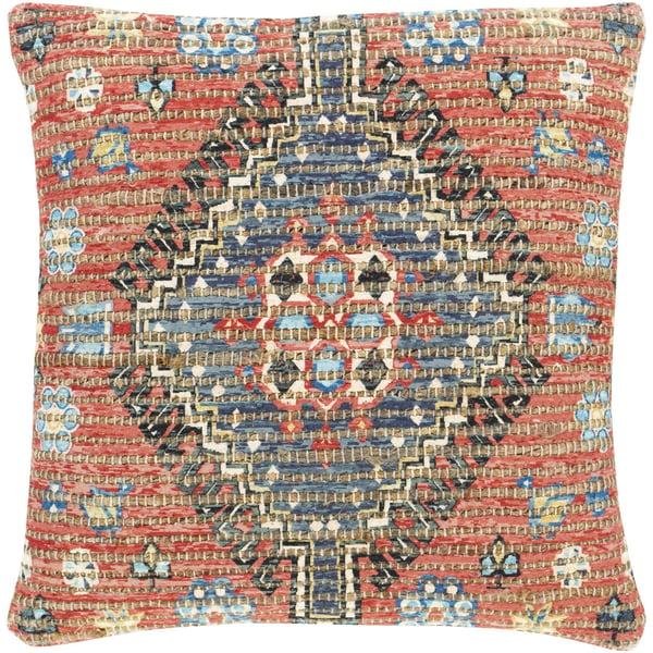 Bright Red, Ivory, Saffron (CVN-005) Bohemian pillow