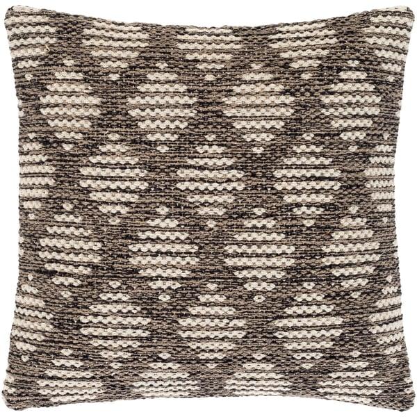 Beige, Tan, Black (VGE-001) Traditional / Oriental Pillow