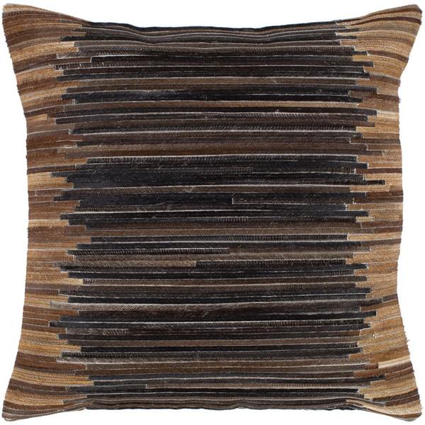 Dark Brown (ZND-001) Contemporary / Modern Pillow