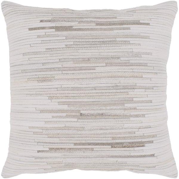 Tan, Cream, Taupe (ZND-002) Contemporary / Modern Pillow