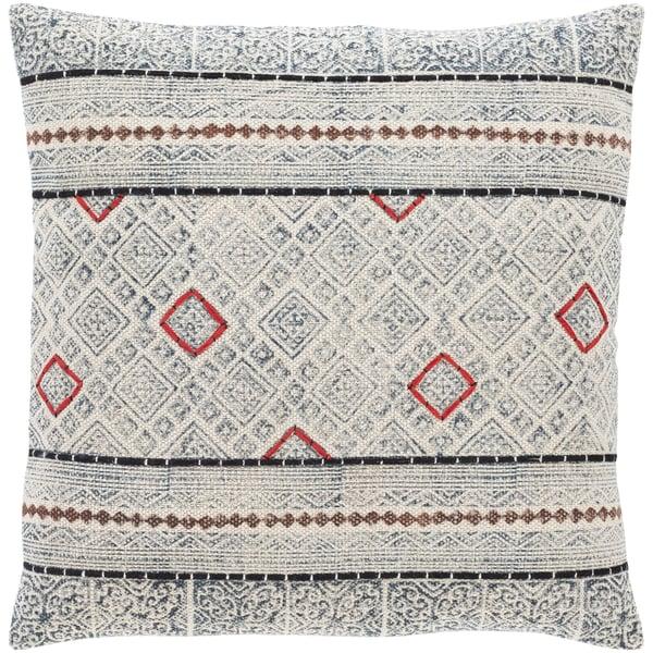 Beige, Dark Brown, Black (ZYA-007) Bohemian pillow