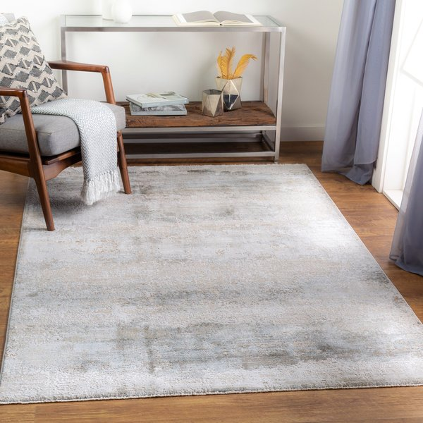 Sage, Light Grey, White (BWK-2305) Abstract Area-Rugs