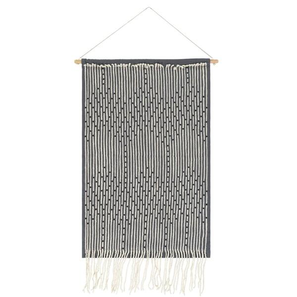 Medium Gray, Cream, Black (AAE-1000) Bohemian Wall-Hangings