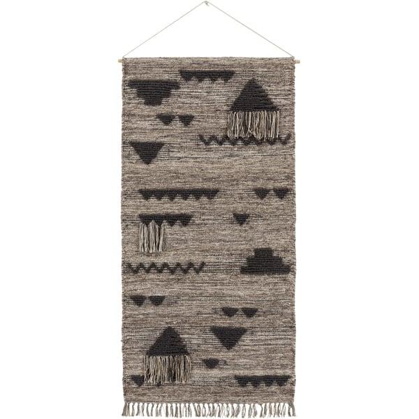Charcoal, Taupe, Khaki (ASE-3001) Bohemian Wall-Hangings
