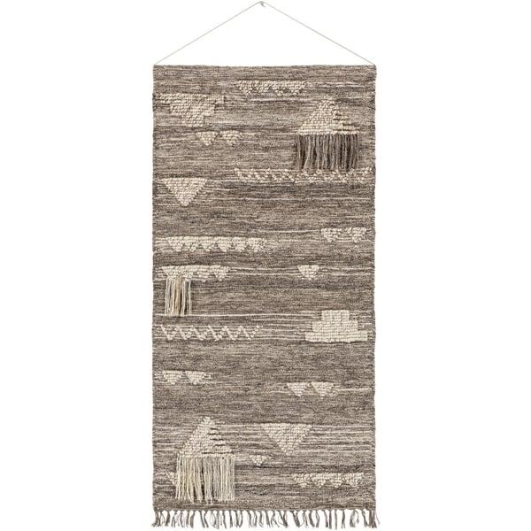 Medium Gray, Ivory, Light Gray (ASE-3000) Bohemian Wall-Hangings