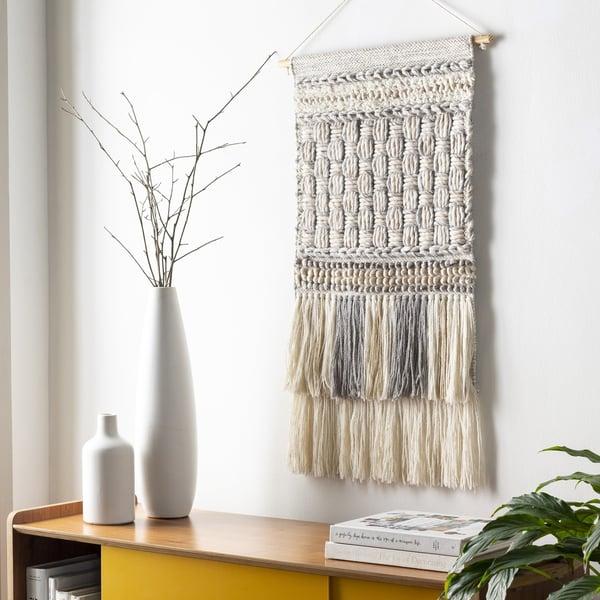 Khaki, Light Gray, Medium Gray (CDB-1002) Bohemian Wall-Hangings
