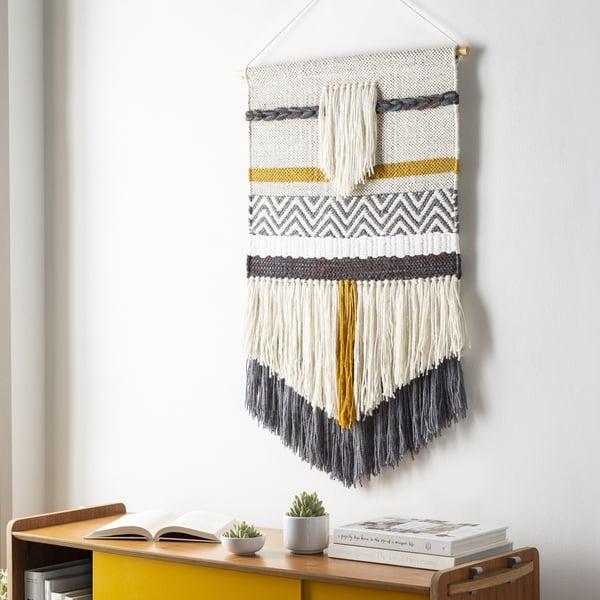 Charcoal, Beige, Cream (SFU-1001) Bohemian Wall-Hangings