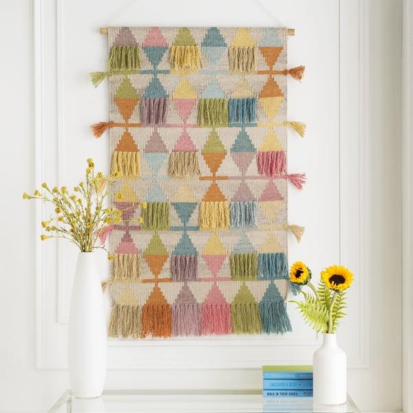 Bright Yellow, Beige, Wheat (DIA-1000) Bohemian Wall-Hangings