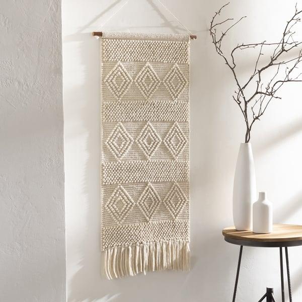 White (HYG-1002) Bohemian Wall-Hangings