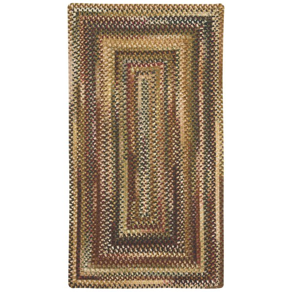 Burgundy Country Area Rug