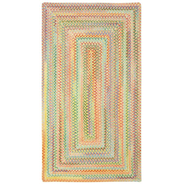 Light Yellow Country Area Rug