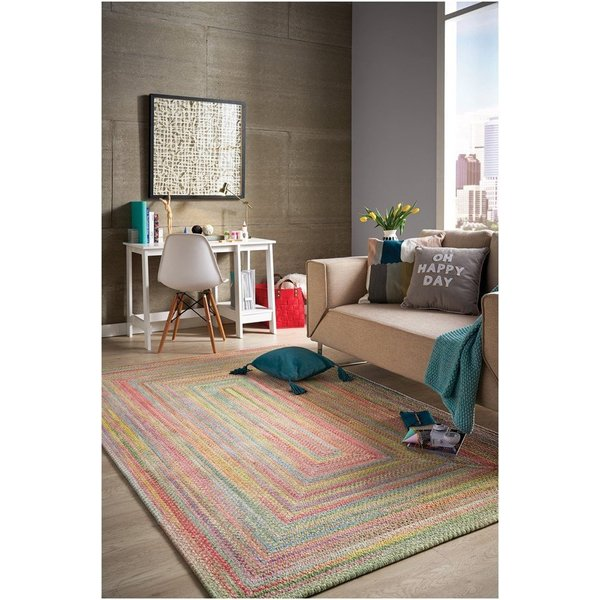 Light Green Country Area Rug
