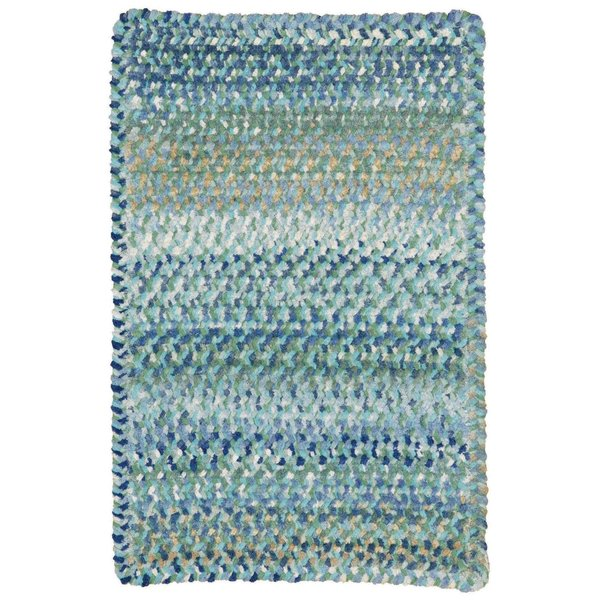 Light Blue Country Area Rug