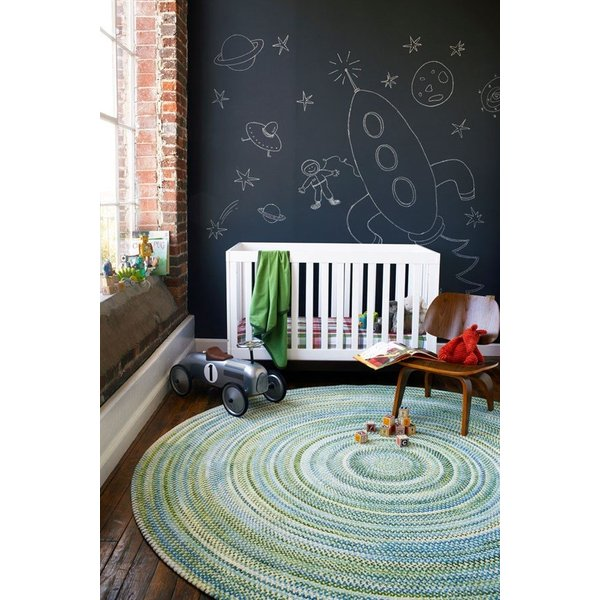 Yellow Country Area Rug