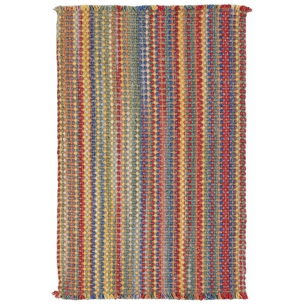 Bright Multi Striped Area Rug