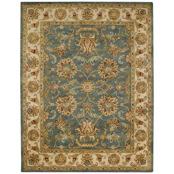 Bombay Blue Traditional / Oriental Area Rug