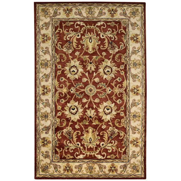 Arabian Red Traditional / Oriental Area-Rugs