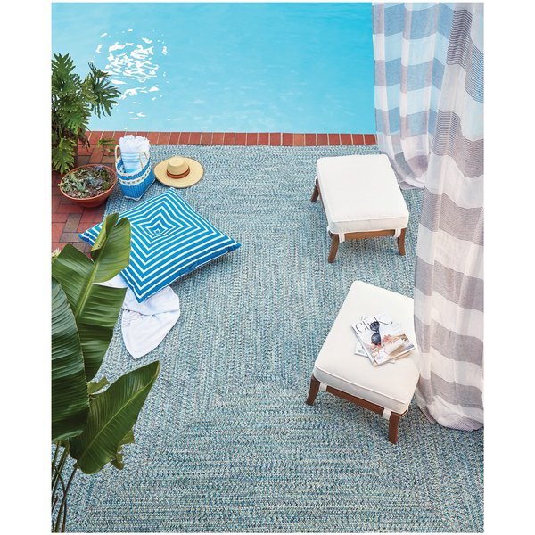 Ocean Blue Country Area-Rugs