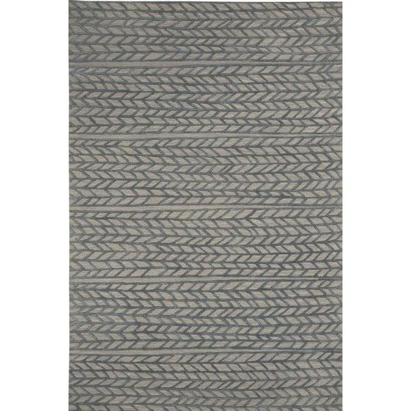 Granite, Smoke Contemporary / Modern Area Rug