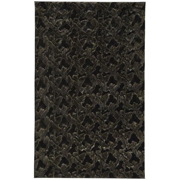 Coal Shag Area Rug